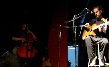 Juan Pablo Labbé en violoncello, en Sala Bordemar, Algarrobo.