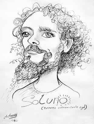 caricatura por Leanael (Chevo)